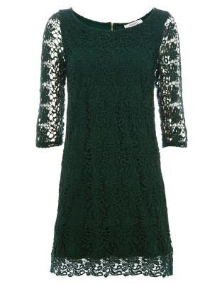 что надеть на Новый год 2015 зеленое платье