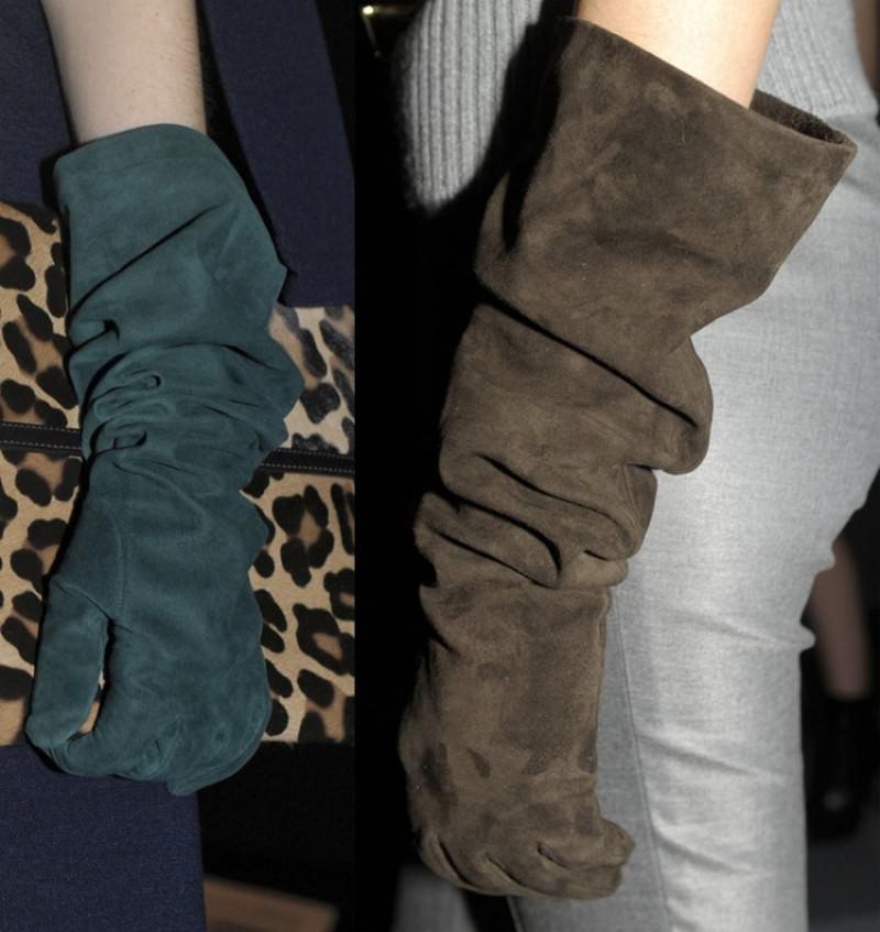 модные зимние перчатки 2020