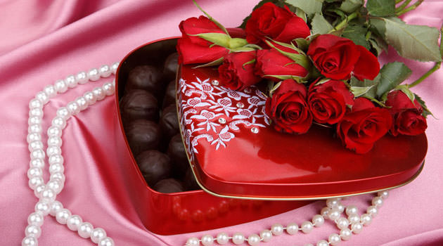 что подарить на день святого Валентина романтика
