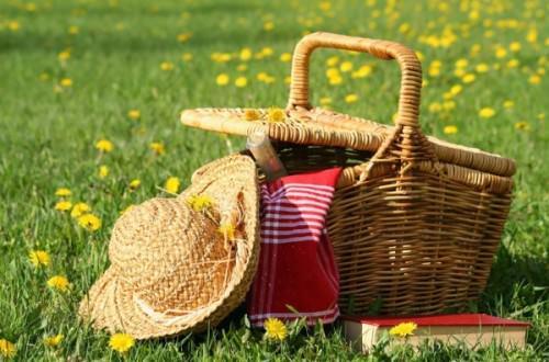 весенний пикник на природе