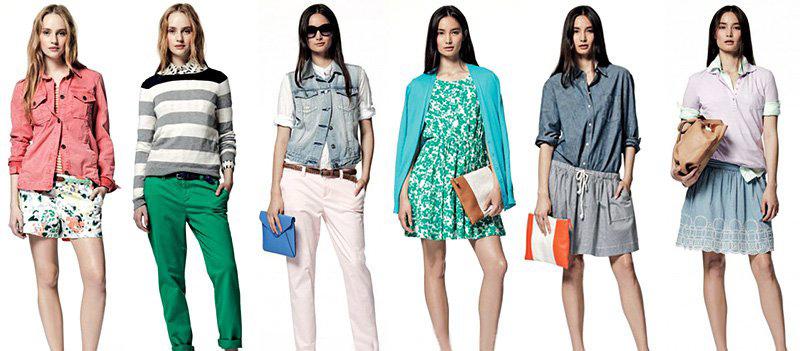 модная одежда на это лето: