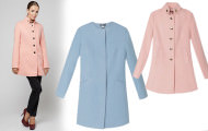 Модные женские пальто весна 2017