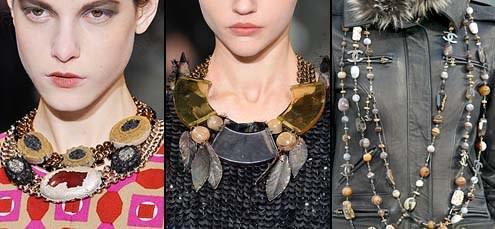 модные украшения на шею
