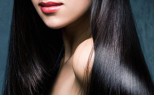 женские волосы после процедуры кератинового выпрямления