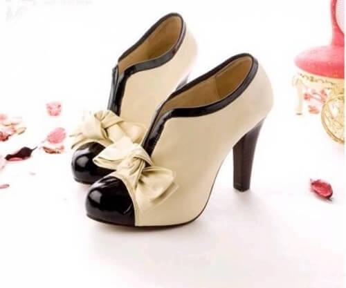 модная женская обувь ботильоны