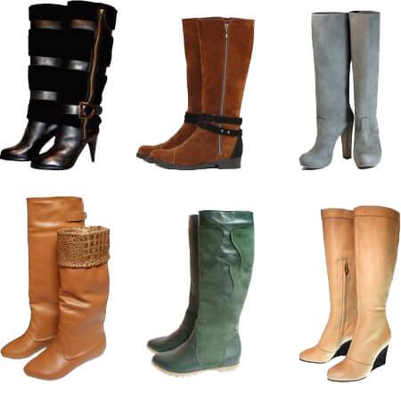 обувь для женщин сапоги