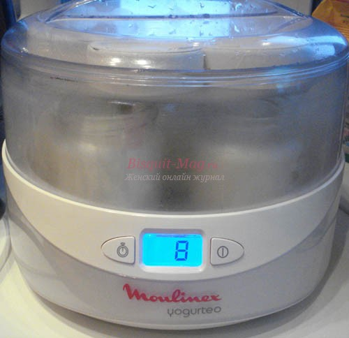 при какой температуре готовить домашний йогурт