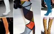 Модные женские сапоги весна 2019