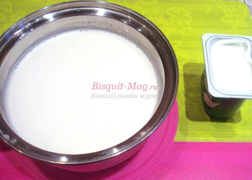 способ приготовления домашнего йогурта