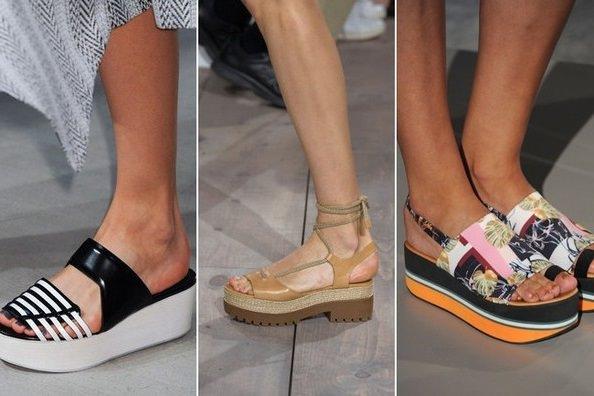 Модные сандали 2015