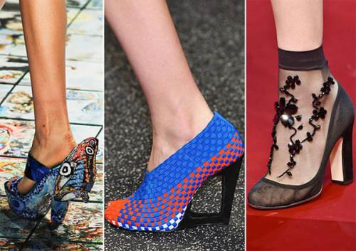 туфли с декором