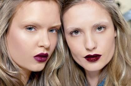 весенний макияж 2015 яркая помада для губ