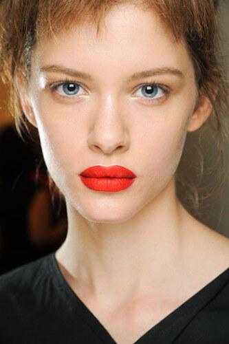 весенний макияж 2015 яркие губы