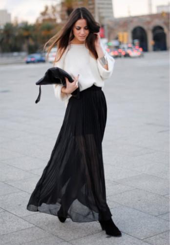 юбка плиссе 2015