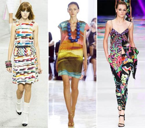 летние модные принты 2015