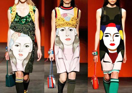 модные принты лето 2015