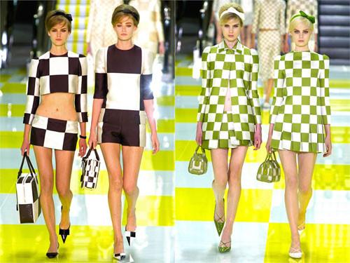 модный принт клетка 2015