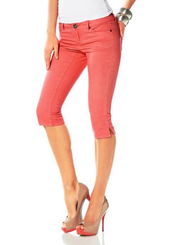 джинсы капри