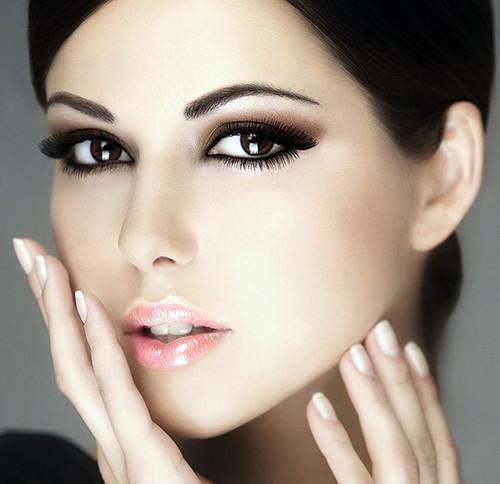 красивый вечерний макияж