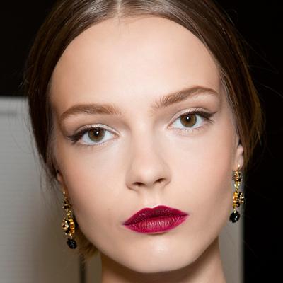 макияж 2015 акцент на губы