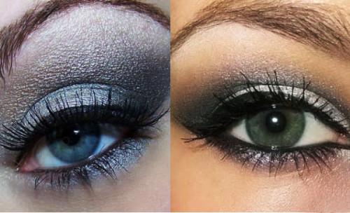 макияж 2015 серый металлик