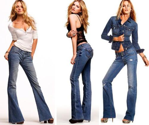 модные джинсы 2015 клеш