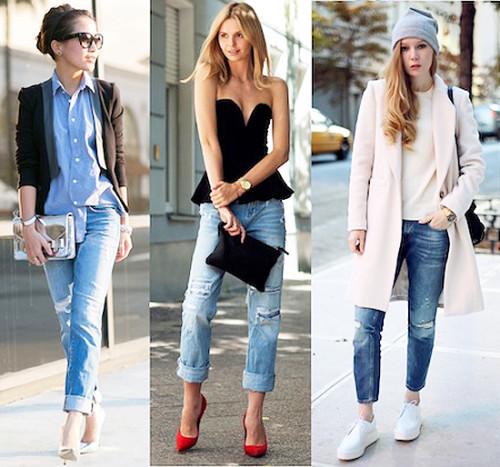 модные джинсы герлфренд