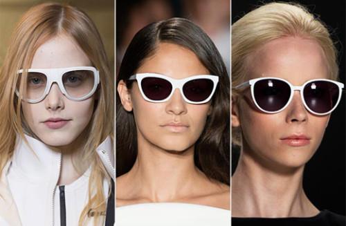 модные очки 2015 белая оправа
