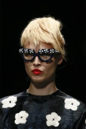 модные очки 2015 цветы на оправе