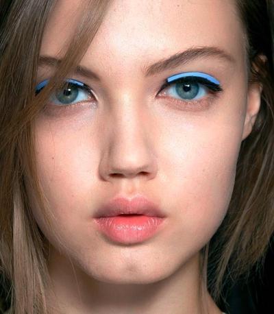 модные стрелки макияж 2015