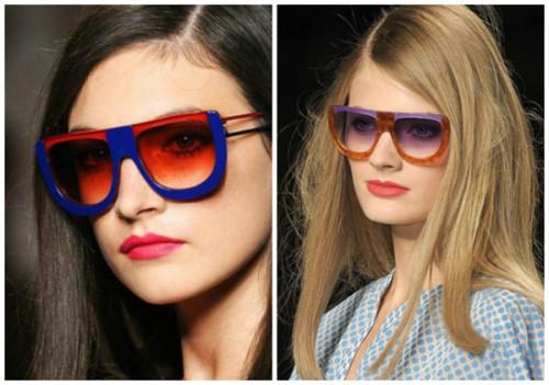 очки разные линзы и оправа