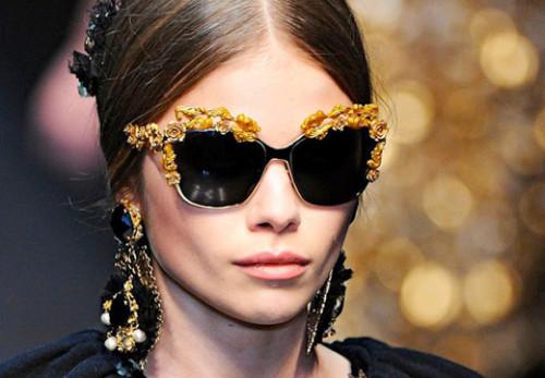 очки с цветами 2015