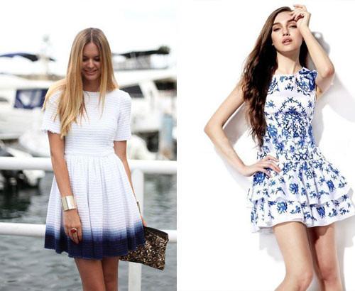 платья на лето 2015 мини
