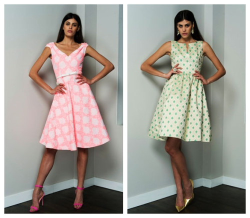 платья ретро 2015