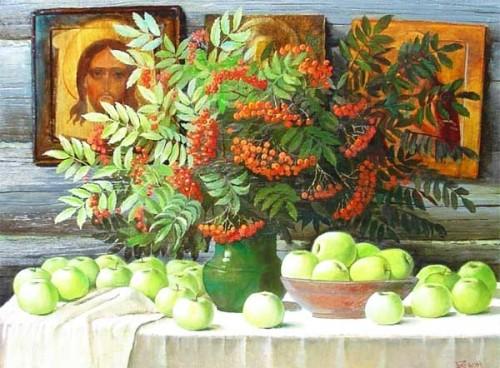 яблоки и праздник Спаса