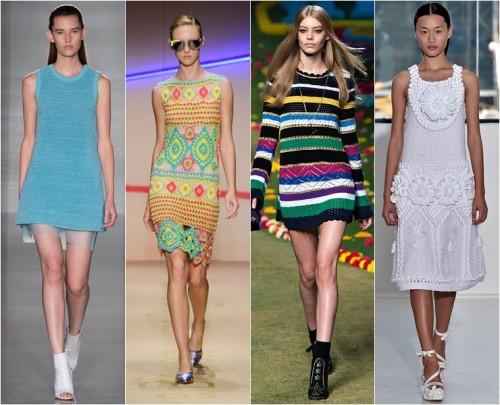 яркие платья лето 2015