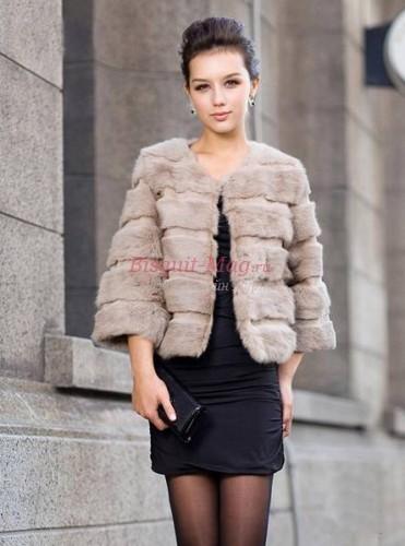 Меховые куртки зима 2018