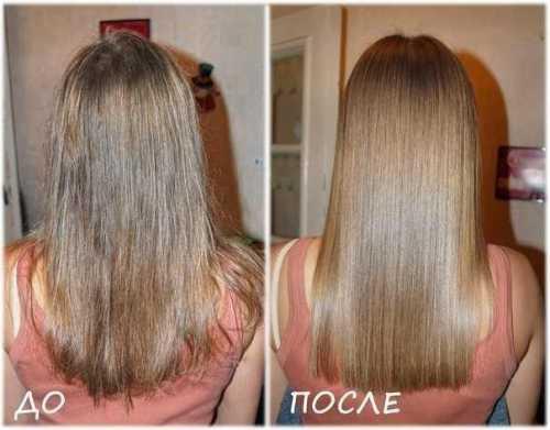 ламинирование против ломких волос