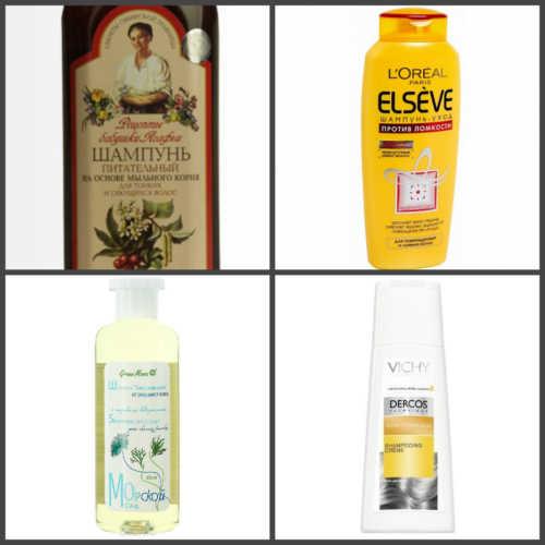 шампуни с натуральными компонентами