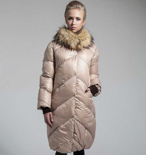 Модные женские пуховики осень-зима