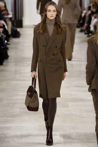 пальто в стиле 60-х