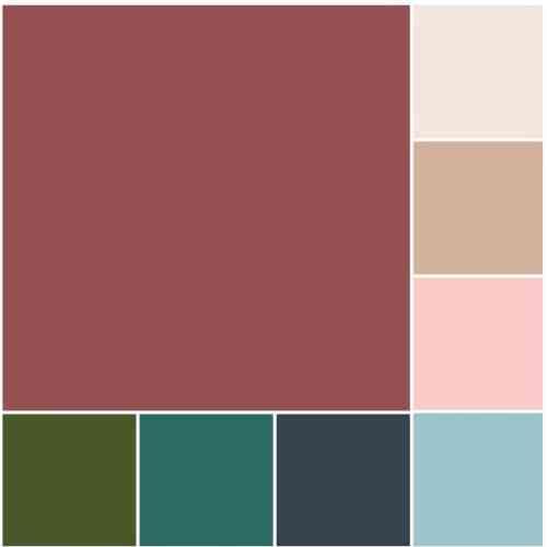 богатые цвета