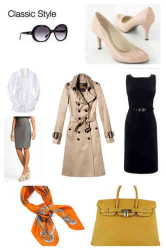 модные классические вещи