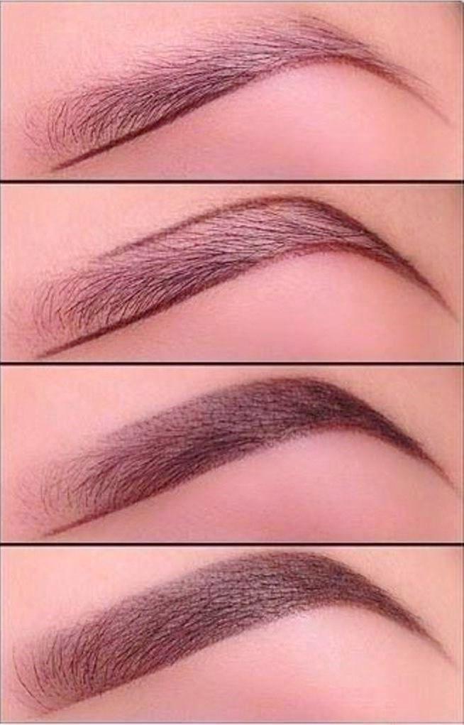 Как аккуратно накрасить брови краской