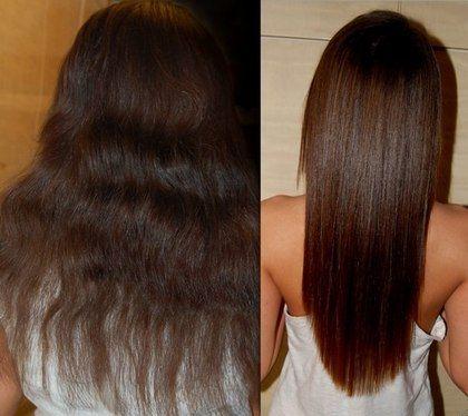 волосы после кератиновой обработки