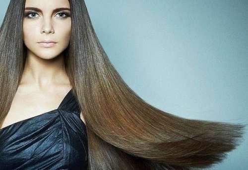 гладкие прямые волосы