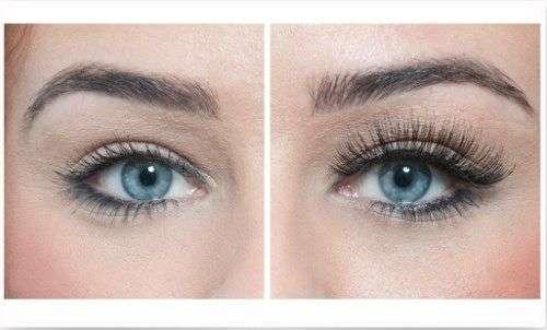 Минусы нарощенных ресниц фото до и после