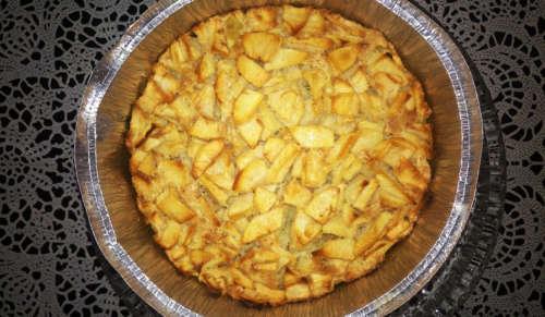 домашний яблочный пирог