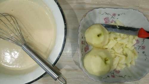 тесто на яблочный пирог